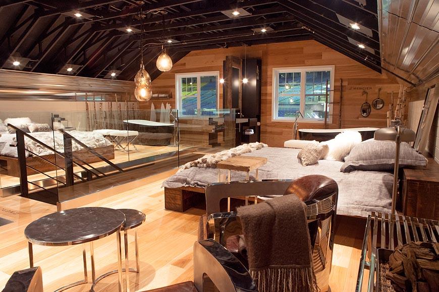 Renovationm garage loft au salon expo habitation de montr al for Idee loft garage